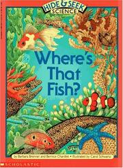 Cover of: Where's That Fish? (Hide and Seek Science, No 3)