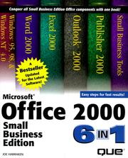Cover of: Microsoft Office 2000 Small Business Edition 6-in-1