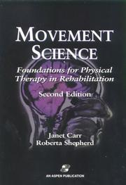 Cover of: Movement Science