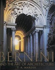 Cover of: Bernini and the Art of Architecture