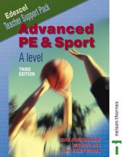 Cover of: Advanced PE and Sport