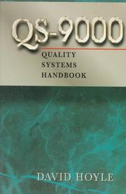 Cover of: QS-9000 quality systems handbook