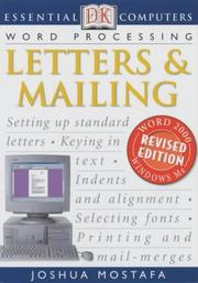 Cover of: Letters and Mailing (Essential Computers)