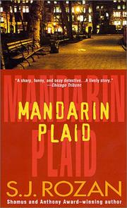 Cover of: Mandarin Plaid (A Bill Smith/Lydia Chin Novel)