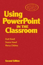Cover of: Using PowerPoint in the Classroom