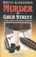 Cover of: Murder in Grub Street (Ulverscroft Large Print Series)