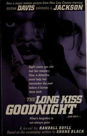 Cover of: Long kiss goodnight: A Novel