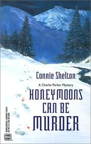 Cover of: Honeymoons Can Be Murder (Charlie Parker Mysteries (Paperback))