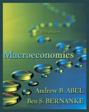 Cover of: Macroeconomics with MyEconLab Student Access Kit (5th Edition)