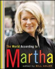 Cover of: The World According to Martha