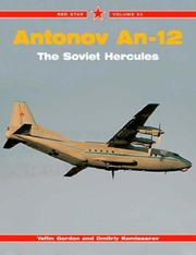 Cover of: Antonov An-12 the Soviet Hercules (Red Star)