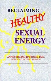 Cover of: Reclaiming Healthy Sexual Energy