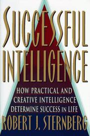 Cover of: Successful intelligence