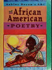 Cover of: Ashley Bryan's ABC of African-American Poetry