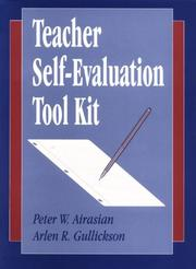 Cover of: Teacher self-evaluation tool kit
