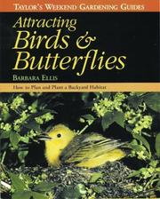 Cover of: Attracting birds & butterflies