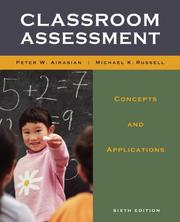Cover of: Classroom Assessment