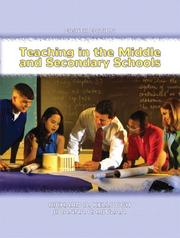 Cover of: Teaching in the Middle and Secondary Schools (8th Edition)