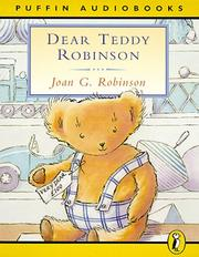Cover of: Dear Teddy Robinson (Puffin Audiobooks)