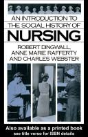 Cover of: An Introduction to the Social History of Nursing