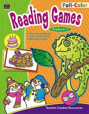 Cover of: Full-Color Reading Games, Grades K-1 (Full-Color Reading Games)