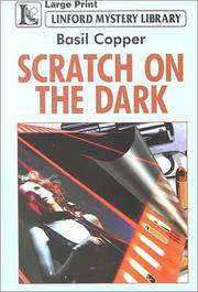 Cover of: Scratch on the Dark
