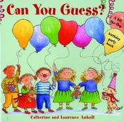 Cover of: Can You Guess?
