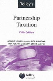Cover of: Tolley's Partnership Taxation
