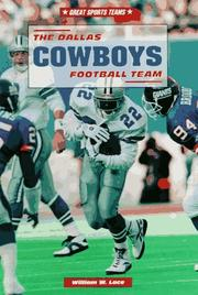 Cover of: The Dallas Cowboys football team