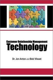 Cover of: Customer Relationship Management Technology