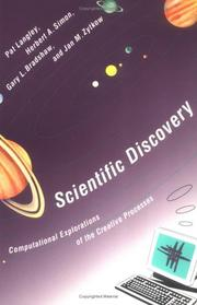 Cover of: Scientific Discovery