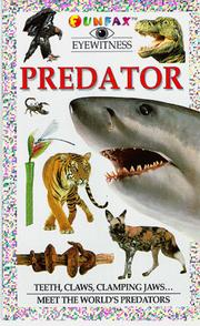 Cover of: Predator (Funfax Eyewitness Books)