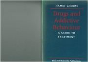 Cover of: Drugs and Addictive Behaviour: A Guide to Treatment