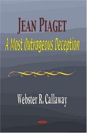 Cover of: Jean Piaget