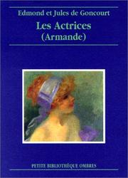 Cover of: Les Actrices (Armande)