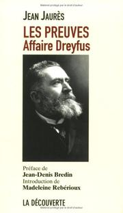 Cover of: Affaire Dreyfus