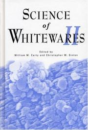 Cover of: Science of Whitewares II