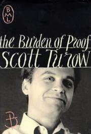 Cover of: Burden of Proof (Bloomsbury Modern Library)