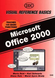 Cover of: Office 2000 Visual Reference Basics