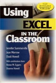 Cover of: Using Excel in the Classroom