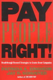 Cover of: Pay People Right!
