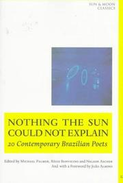 Cover of: Nothing the sun could not explain