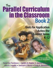 Cover of: The Parallel Curriculum in the Classroom, Book 2