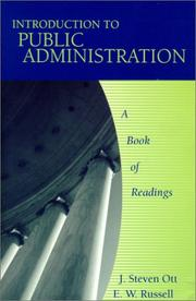 Cover of: Introduction to Public Administration