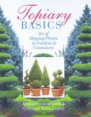 Cover of: Topiary Basics