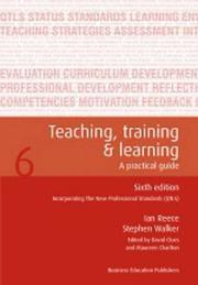 Cover of: Teaching Training and Learning