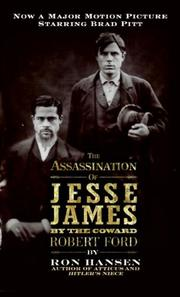 Cover of: Assassination of Jesse James