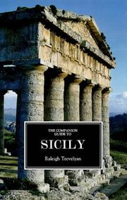 Cover of: The companion guide to Sicily