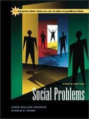 Cover of: Social Problems (8th Edition)