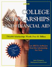 Cover of: College Scholarships and Financial Aid
